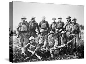 American Patrol with German Machine Gun Captured in the Saint-Mihiel Offensive on the Western? by American Photographer
