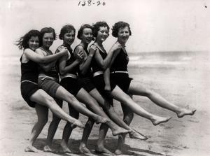 Bathing Beauties, 1924 by American Photographer