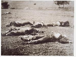 Dead on the Field of Gettysburg, July 1863 by American Photographer