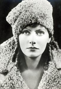 Greta Garbo in the Role of Anna Karenina (B/W Photo) by American Photographer