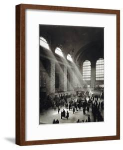 Holiday Crowd at Grand Central Terminal, New York City, c.1920 by American Photographer