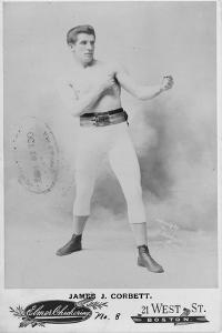 James J. Corbett, 1894 by American Photographer