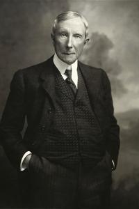 John D. Rockefeller Snr (1839-1937) by American Photographer