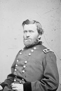 Maj. Gen. Ulysses S. Grant, officer of the Federal Army, 1862-4 by American Photographer