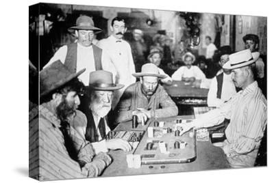 Playing Faro in a Saloon at Morenci, Arizona Territory, 1895