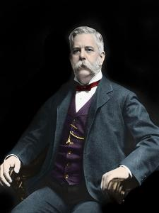 Portrait of George Westinghouse (1846-1914) American inventor and industrialist by American Photographer
