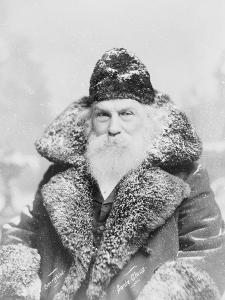 Real-Life Santa Claus, c.1895 by American Photographer