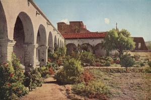 San Juan Capistrano Mission, California by American Photographer