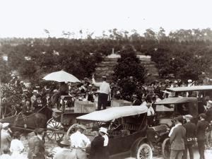 Selling Land in Coral Gables, 13th December 1920 by American Photographer