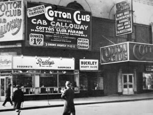 The Cotton Club in Harlem, New York City, c.1930 by American Photographer