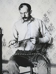 Tom Horn (1861-1903) (B/W Photo) by American Photographer