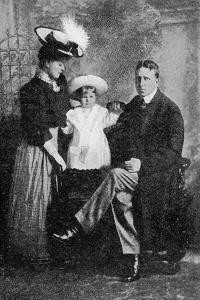 William Randolf Hearst and His Family, Published in 'The Graphic' October 27th 1906 by American Photographer