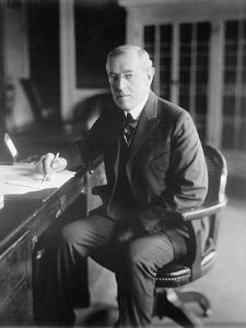 Woodrow Wilson, c.1918 by American Photographer