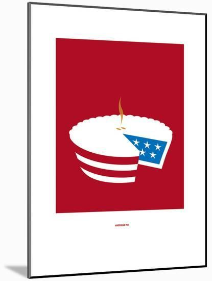 American Pie: Don Mclean-Christophe Gowans-Mounted Giclee Print