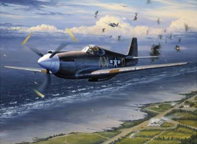 American Planes on Reconnaissance Mission over Normandy