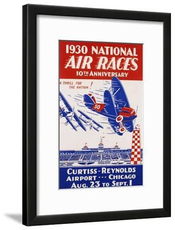 American Poster for 1930 National Air Races