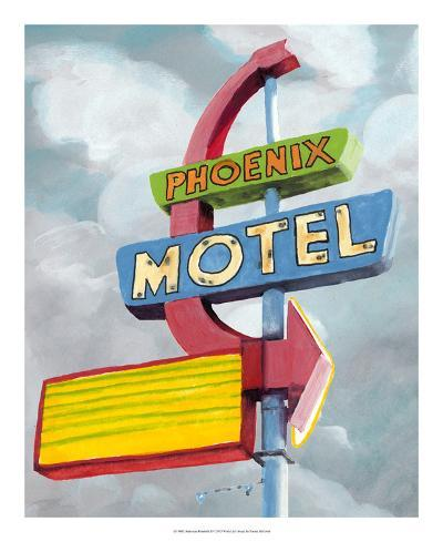 American Roadside II-Naomi McCavitt-Giclee Print