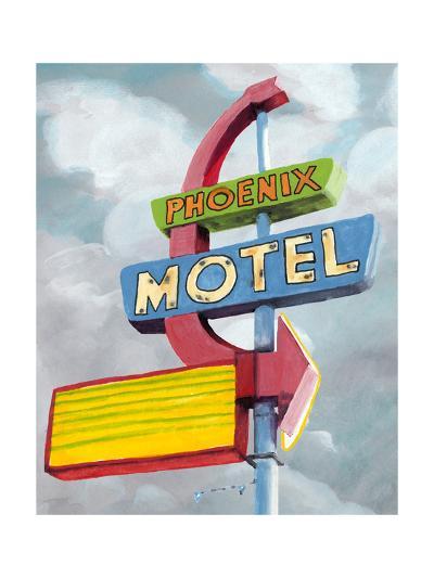 American Roadside II-Naomi McCavitt-Art Print