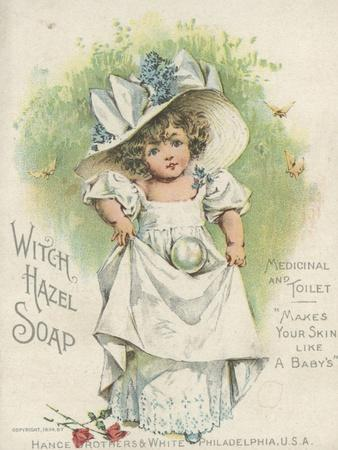 Advertisement for Witch Hazel Soap, Medicinal and Toilet, 1894