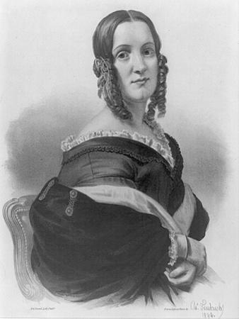 Angelica Van Buren, 1842
