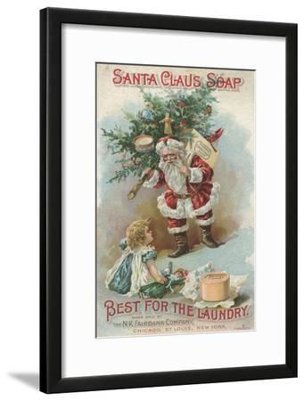 Best for the Laundry', Advertisement for Fairbank's Santa Claus Soap, C.1880