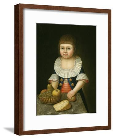 Boy with a Basket of Fruit, c.1790