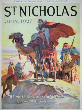 Front Cover of St. Nicholas Magazine, July 1927