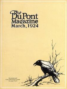 International Crow-Shooting Contest, Front Cover of the 'Dupont Magazine', March 1924 by American School