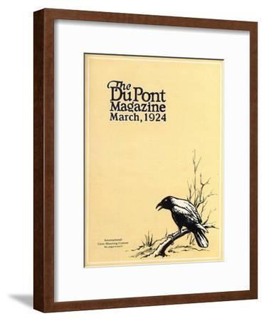 International Crow-Shooting Contest, Front Cover of the 'Dupont Magazine', March 1924