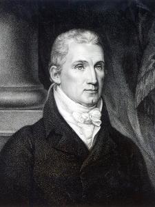 James Monroe, Engraved by Thomas Gimbrede by American School