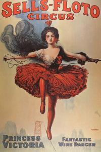 Poster Advertising the 'Sells-Floto Circus', 1920 by American School