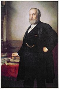 President Benjamin Harrison by American School