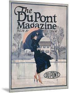Something New in Sportswear, Front Cover of the 'Dupont Magazine', April 1921 by American School