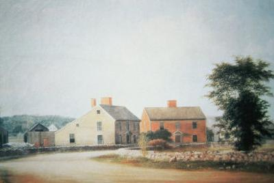 The Birthplace of John Adams by American School