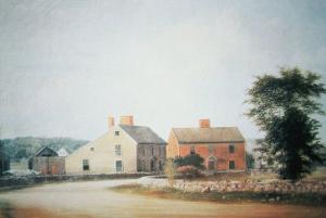 The Birthplace of John Adams by American School