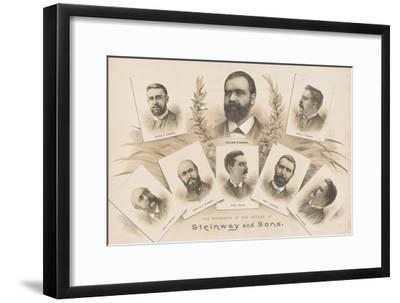 The members of the House of Steinway and Sons, 1890