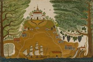The Plantation, c.1825 by American School