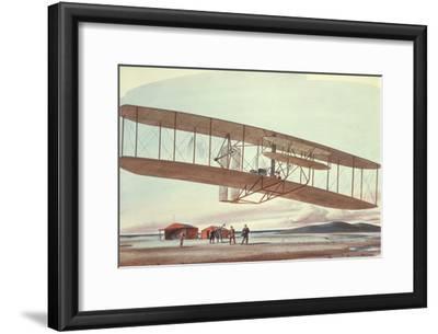 The Wright Brothers at Kitty Hawk, North Carolina, in 1903