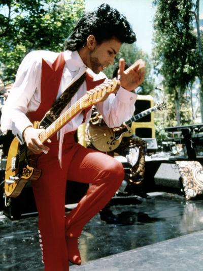 American Singer Prince (Prince Rogers Nelson) in the 80'S--Photo