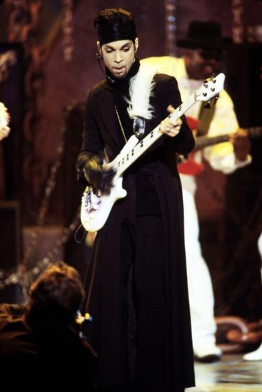 American Singer Prince (Prince Rogers Nelson) on Stage at the Naacp Image Awards 1999--Photo