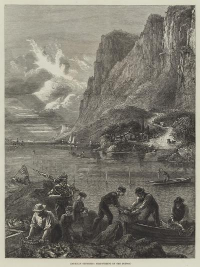 American Sketches, Shad-Fishing on the Hudson--Giclee Print