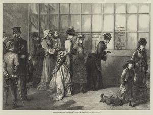 American Sketches, the Ladies' Window at the New York Post-Office