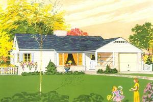 American Suburban Home