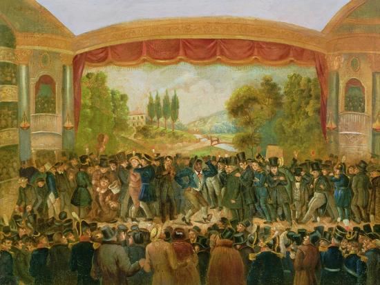 American Theatre, Bowery, New York, Depicting the 57th Night of Mr T.D. Jim Crow Rice (1808-60)…--Giclee Print