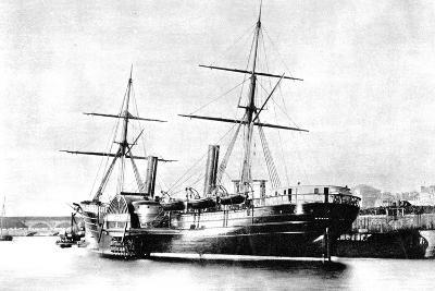 American Transatlantic Steamship, Arago, 1856--Giclee Print