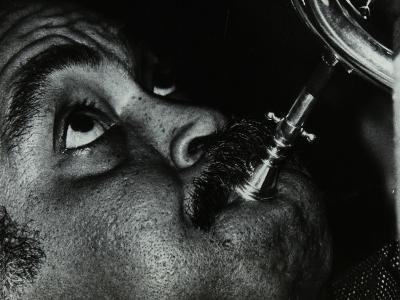 American Trumpet and Flugelhorn Player Art Farmer at the Bell, Codicote, Hertfordshire, 1983-Denis Williams-Photographic Print