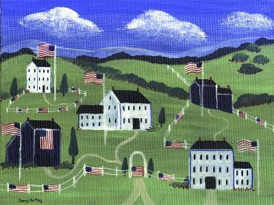 American Village-Cheryl Bartley-Giclee Print