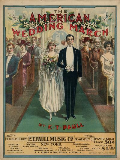 American Wedding March--Art Print
