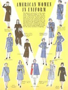 American Women in Uniform