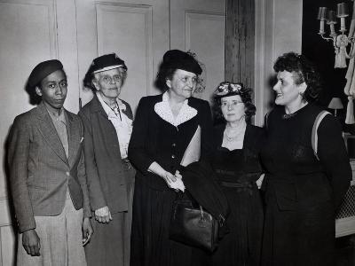 American Women Labor Leaders with Secretary of Labor, Frances Perkins, Ca. 1935--Photo